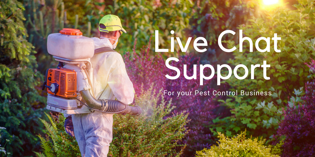 Pest Control Live Chat Support